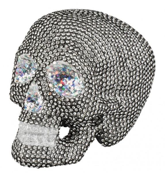 Blingbling brokatowa czaszka