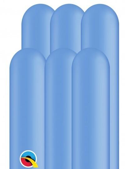 100 palloncini modellabili 260Q blu 1.5m