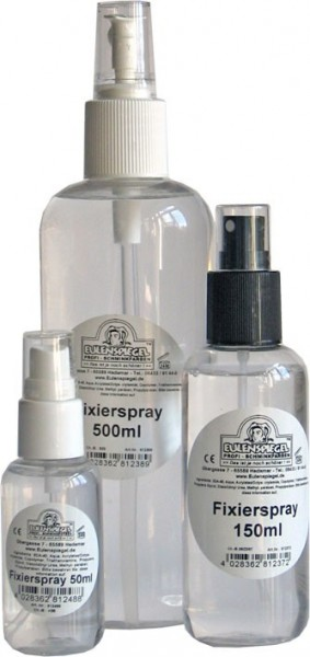 Eulenspiegel Fixierspray Für Profi Aqua Make-up