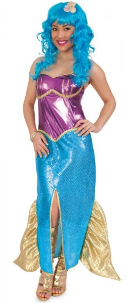Meerjungfrau Marina Damenkostüm