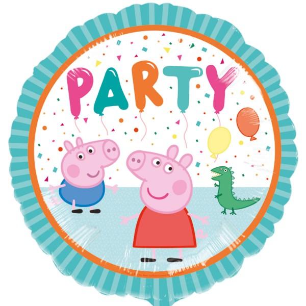 Peppa Pig Party Foil Balloon 45cm