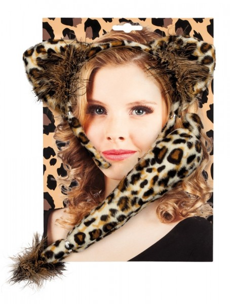 Leoparden Kostüm Set