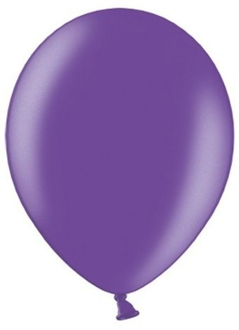 10 globos metalizados estrella de fiesta violeta 27cm