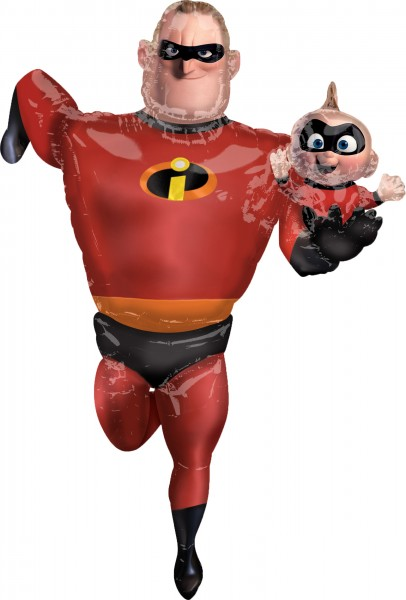 The Incredible Foil Balloon Mr. Incredible