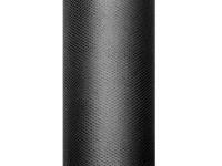 Tüll Stoff Luna schwarz 9m x 50cm
