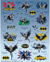 4 Batman Hero Stickerbögen