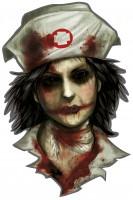 12 Horror Psychatrie Deko-Ausschnitte