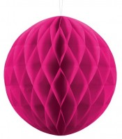 Wabenball Lumina magenta 30cm