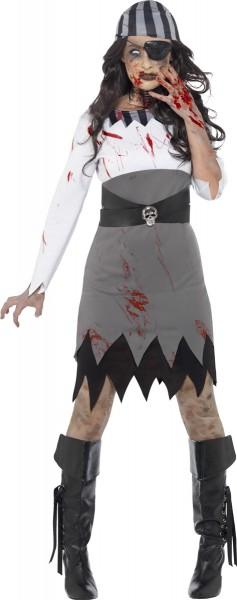 Horror Piratenbraut Petunia Kostüm Für Damen