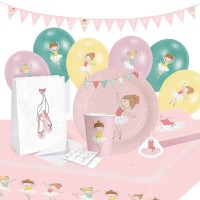 Party Set Little Dancer 61-teilig