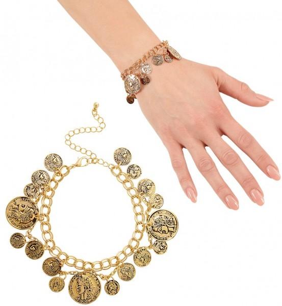 Antikes Armband Römerin Gold