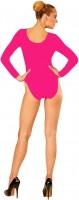 Klassieke body voor dames roze