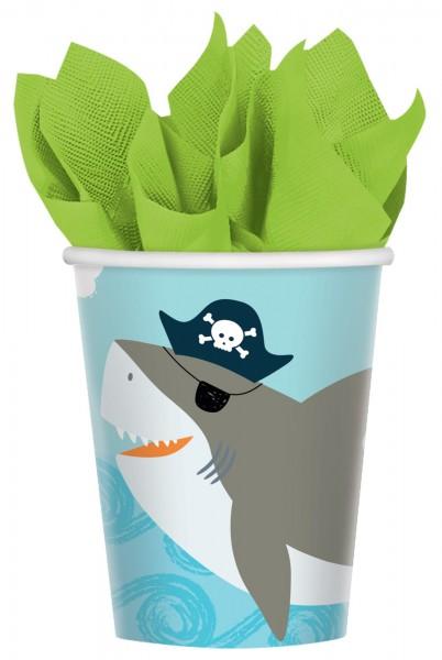 8 sea ahoy cups 250ml