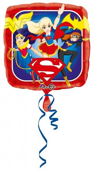 Globo de aluminio Super Hero Girls Trio angular