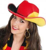 Cowboyhut für Deutschland Fans