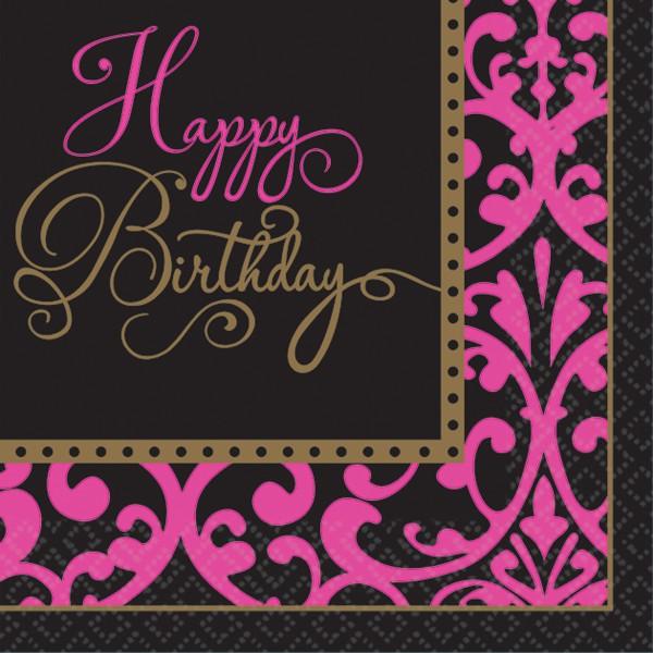 36 Fabulous Birthday Servietten 25cm