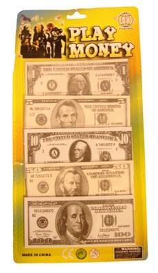 Dolarowe pieniądze do gry