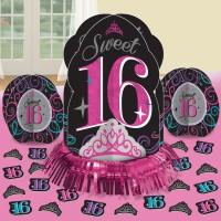 Sweet Sixteen Tischdeko Set