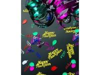 Bunte Metallic Partyballon Streudeko 15g