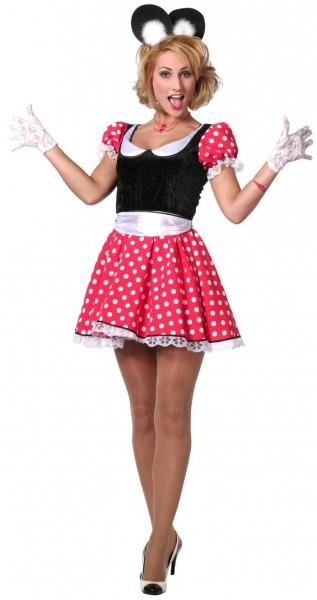 Minnie Mouse meid kostuum
