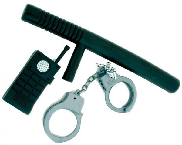 Polizei Einsatz Set 3-teilig