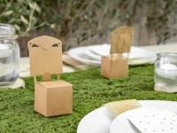 Vorschau: 10 Stuhl Tischkarten 5 x 5 x 13,5cm