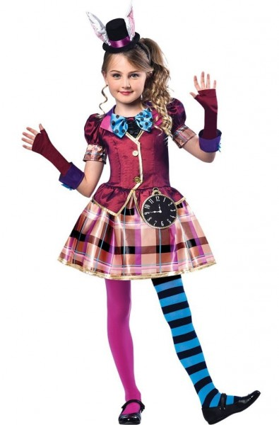 Miss Hatter Costume for Girls