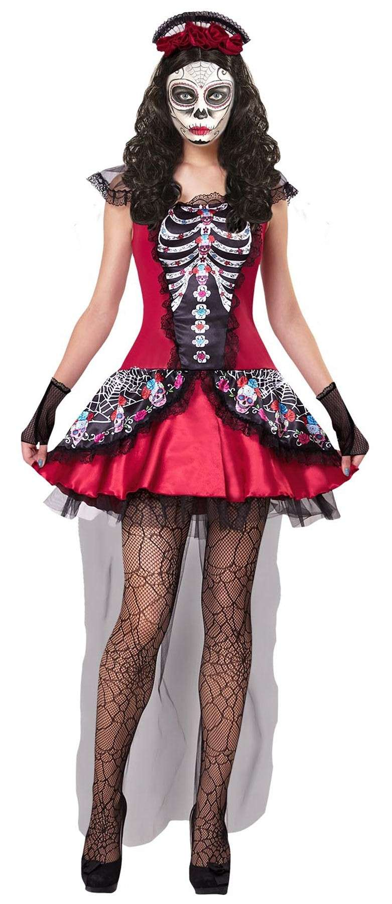 Madchen Damen Cheerleader Kostum Kleid Fasching Cosplay Schwarz