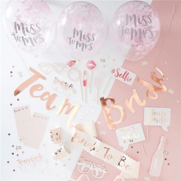Paquete de fiesta Team Bride 48 piezas