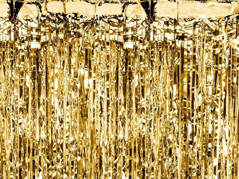 Gold 4m Girlande Tinsel