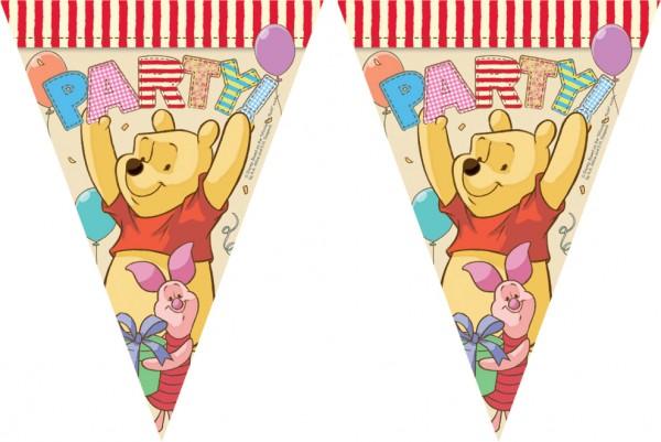 Party Winnie Puuh Wimpelkette 3m