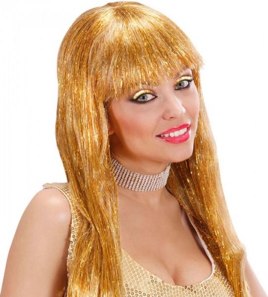Goldy Metallic Wimpern In Gold Und Schwarz