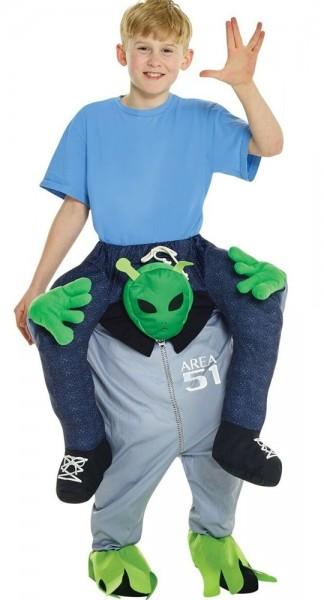 Area 51 piggyback costume for children