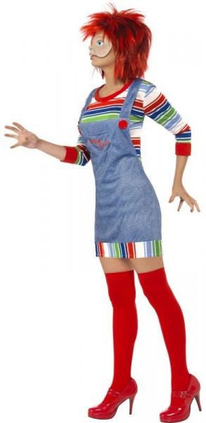 Halloween kostuum mevrouw Chucky Killer Doll