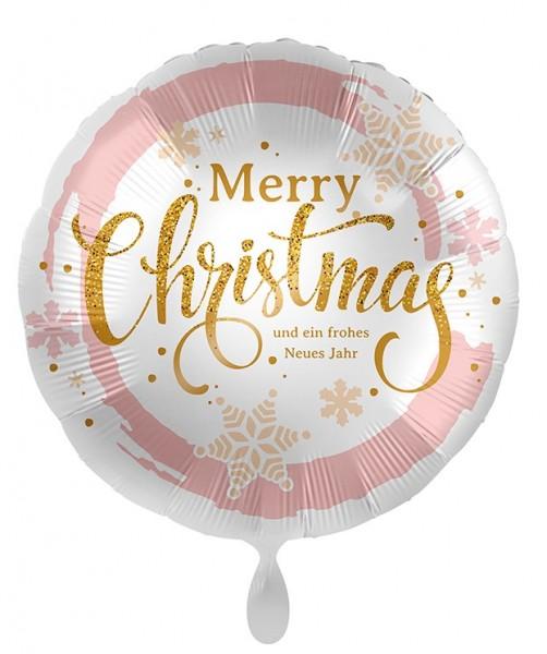 Ballon aluminium Joyeux Noël 71cm