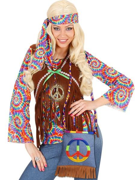 Hippie Peace Handtasche 2