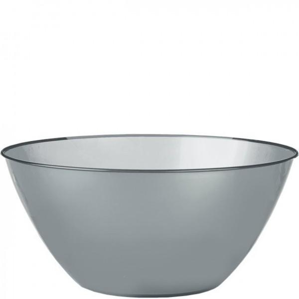 Silver serving bowl 4.7l