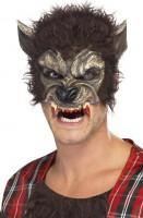 Halbmaske Werwolf Halloween