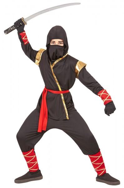Costume per bambini Akio ninja guerriero
