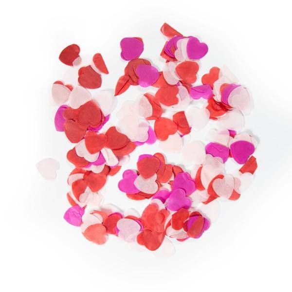 Confetti Hearts Mix L