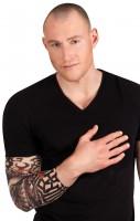 Totenkopf Drachen Tattoo-Ärmel Unisex