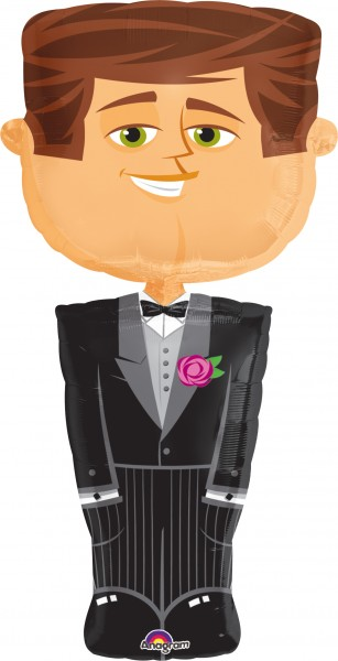 Balloon Groom Bert