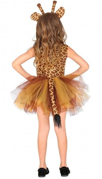 Süßes Giraffenkostüm für Mädchen