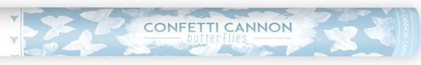 Konfetti Kanone Schmetterling 60cm