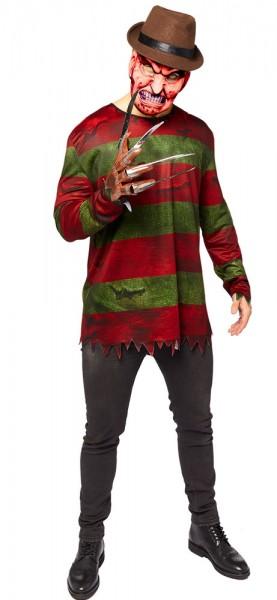 Freddy Krüger Kostüm für Herren