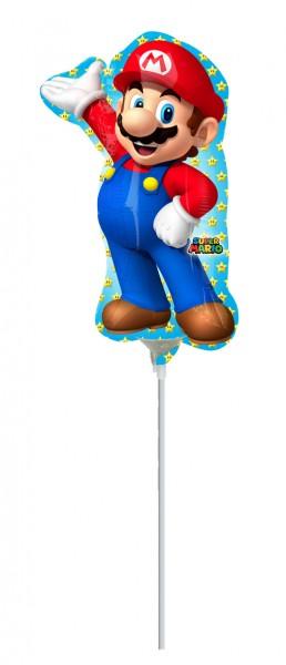 Figurine Super Mario ballon bâton