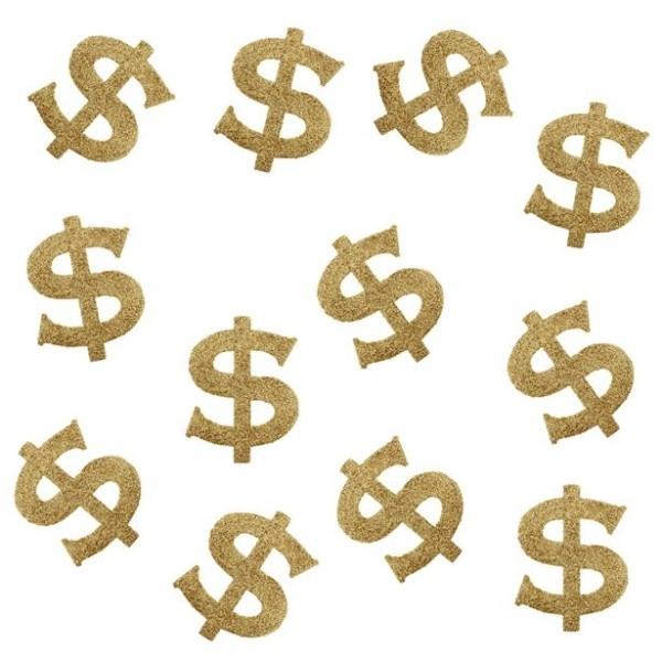 Décoration de dispersion de 20 dollars d'or