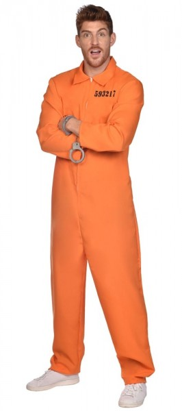 Death Row Convict Costume for Men