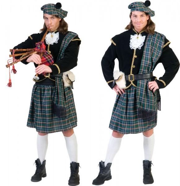 Scotsman Edinburgh Highlander kostuum