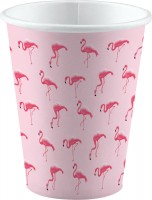 8 Flamingo Paradise Becher 250ml